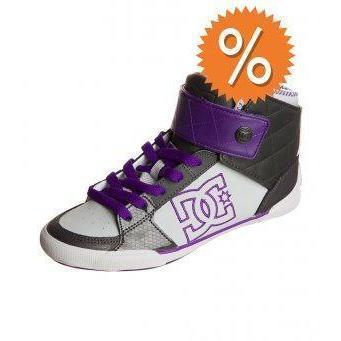 DC Shoes Sneaker high lila/grau