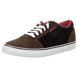 DEKLINE ARCHER Sneaker brown/black/red