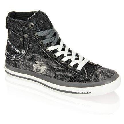 Exposure Sneaker Diesel schwarz
