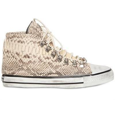 Dioniso - 20Mm Python Hohe Sneakers