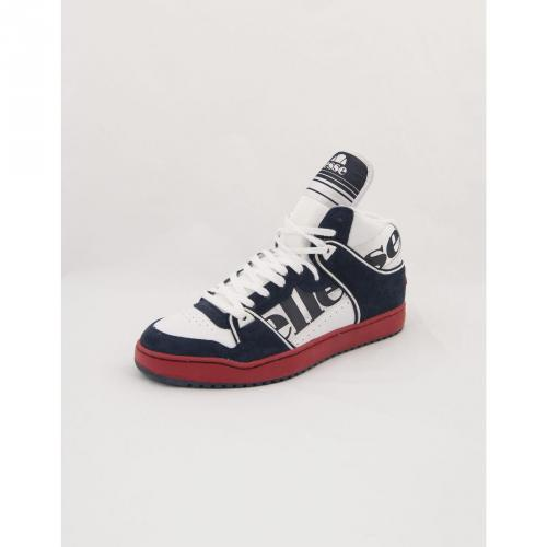 Assist High Schuhe White Blue Red Navy