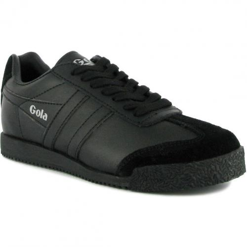 Gola Harrier Leather black black