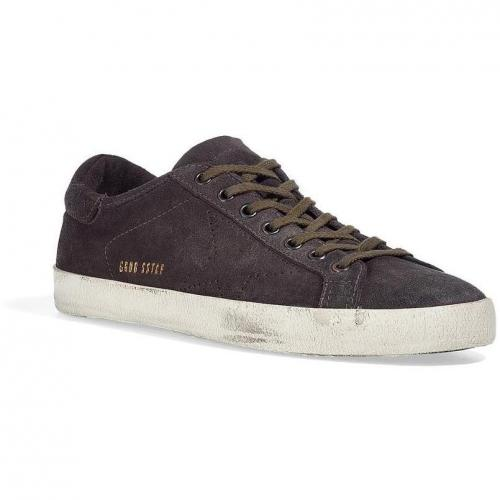 The Super Star Leather Shearling Sneakers
