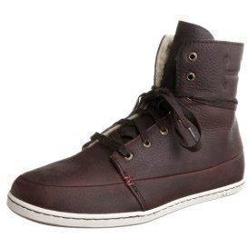 HUB CHESS M Sneaker dark brown