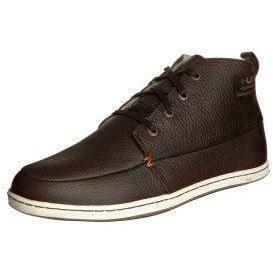 HUB Sneaker dark brown/white