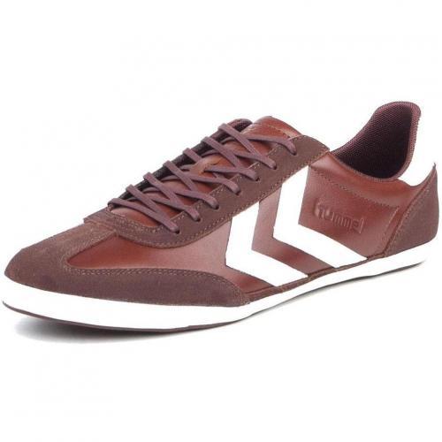 Hummel Roma Heritage Schuhe Dark Leather