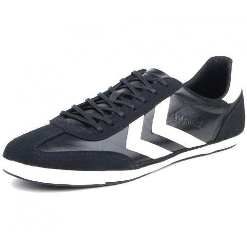 Hummel Roma Heritage Schuhe Jet Black