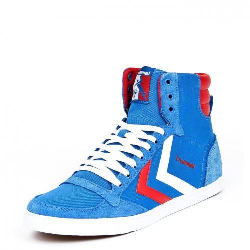 Slimmer Stadil High Cancas Brilliant Blue/Ribbon Red/White