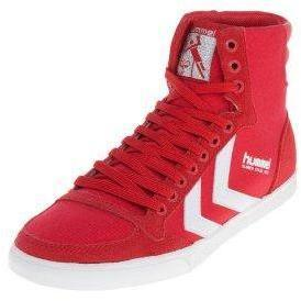 size 40 ffcaa b468d Hummel SLIMMER STADIL HIGH CANVAS Sneaker High ribbon red/white