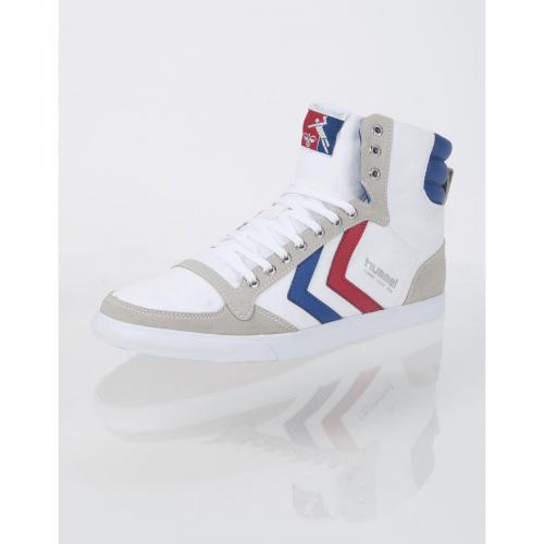 Slimmer Stadil High Canvas White/Ribbon Red/White/Limoges Blue