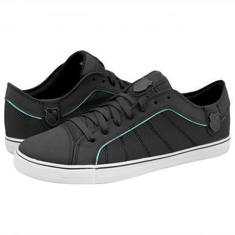 K-Swiss HWD T VNZ Sneakers Black/Aruba Blue