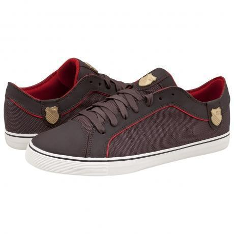 K-Swiss HWD T VNZ Sneakers Chocolate/Red Hot