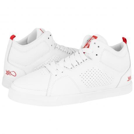 K1X 80s LE Sneakers White/White/Red