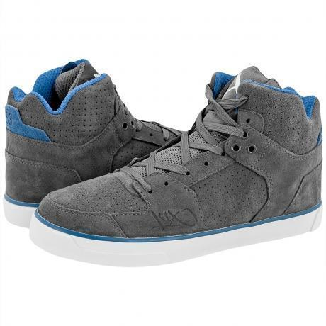 K1X Lazy High Vulc LE Sneakers Grey/Dove Blue/White