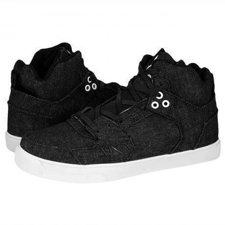 K1X Lazy High Vulc Sneakers Black/White/Denim