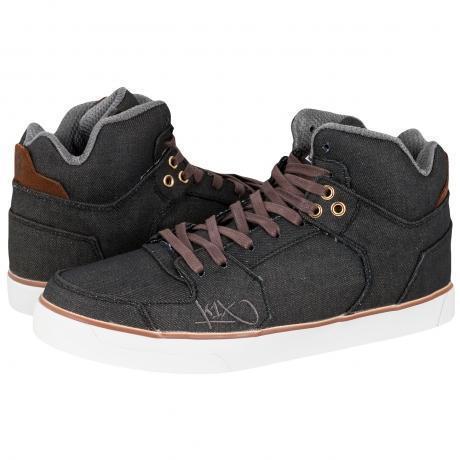 K1X Lazy High Vulc Sneakers Brown/White/Denim
