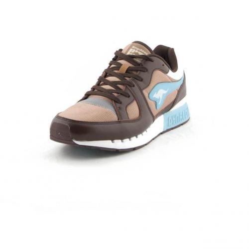 Coil-R1 Sneaker Brown/Blue