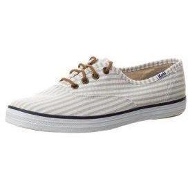 Keds CHAMPION SEERSUCKER Sneaker low white/tan seersucker