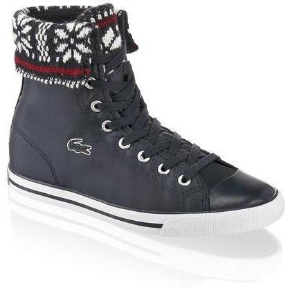 L27 Nool Cuff Sneaker Lacoste blau