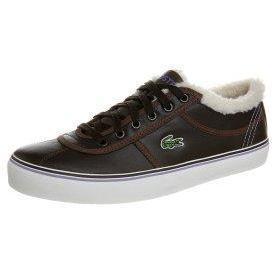 Lacoste SAHIRA Sneaker low dark brown/off white