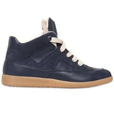 Maison Martin Margiela - Wildleder & Leder Hohe Sneakers