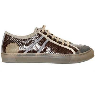 Marc Jacobs - Schlangen Druck Kalbsleder Sneakers