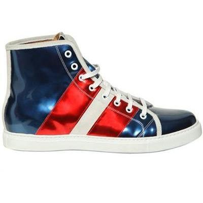 Marc Jacobs - Shiny Patent Hohe Sneakers