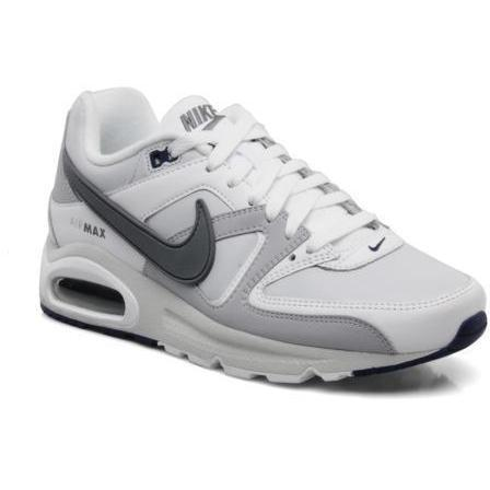 Nike Herren Air Max Command Leather Sneakers, Weiß (White