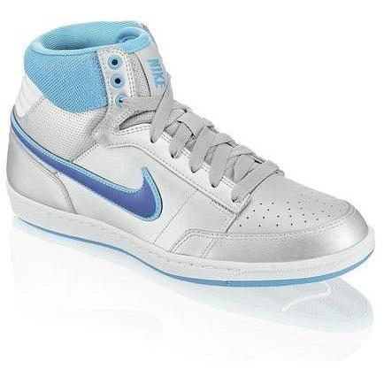 Double Team Sneaker Nike silber