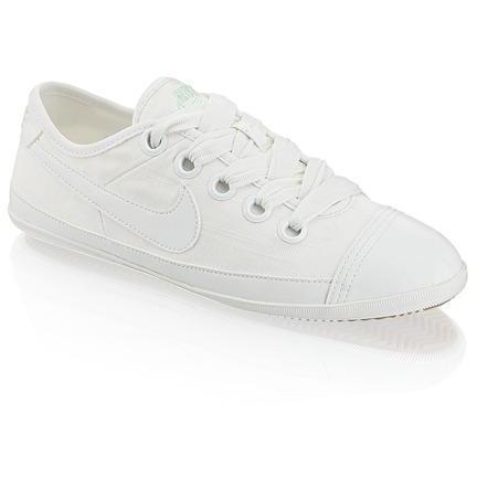 Flash Macro Sneaker Nike weiss