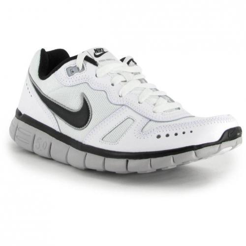 Nike Free Waffle AC Leather Men white black wolf grey