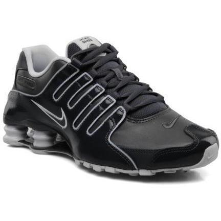 nike nike shox nz eu by nike sneakers f r herren grau. Black Bedroom Furniture Sets. Home Design Ideas
