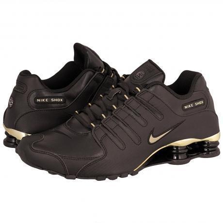 Nike Shox Schwarz Gold