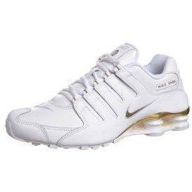 Nike Shox Gold Weiß