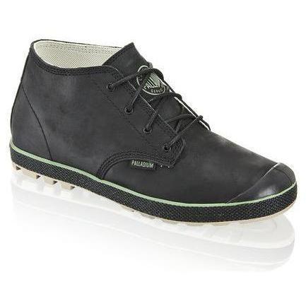Slim Chukka Sneaker Palladium schwarz