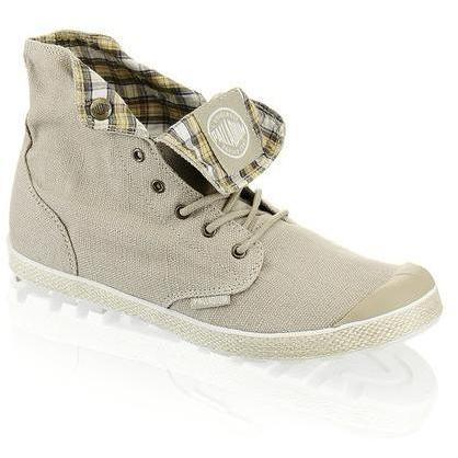 Slim Snaps Sneaker Palladium beige