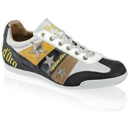 Spoleto Austerity Sneaker Pantofola d'Oro braun kombiniert