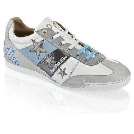 Spoleto Austerity Sneaker Pantofola d'Oro grau kombiniert