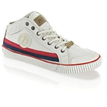 fbe5425e61f8 Pepe Jeans Industry Sneaker Pepe Jeans weiss