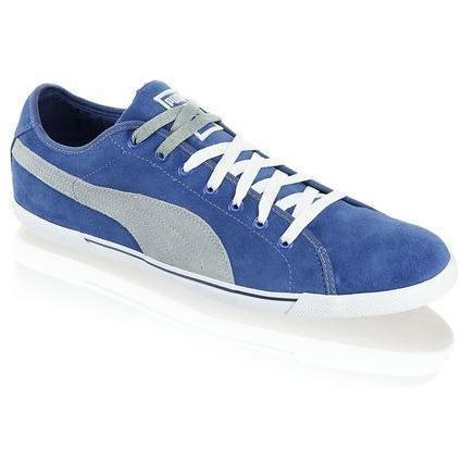 Benecio Suede Sneaker Puma blau kombiniert