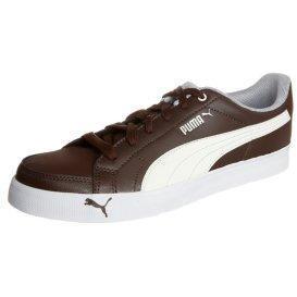 Puma COURT PONIT Sneaker chocolate brown/whisper white/white