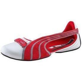 Puma ESPERA III NU SEASONAL Sneaker low weiß/rot