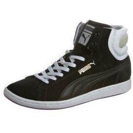 Puma FIRST ROUND SUPER ECO Sneaker high black / white / dewberry