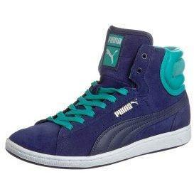 Puma FIRST ROUND SUPER ECO Sneaker high navy blue / ceramic green