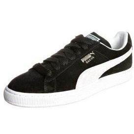 Puma SUEDE CLASSIC Sneaker low black/white/team gold