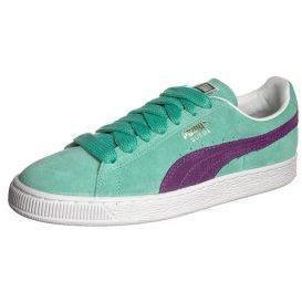 Puma SUEDE CLASSIC Sneaker low green/purple/white/team gold