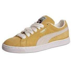 Puma SUEDE CLASSICO ECO Sneaker low lemon curry/ snow white