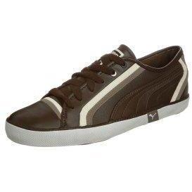 Puma VOLLEY Sneaker chocolatefossilwhisperwhite