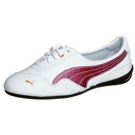 Puma WINNING DIVA Sneaker low white/ raspberry rose/ orange