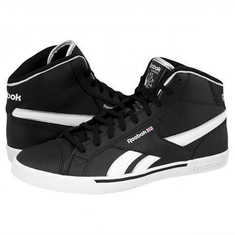 Reebok Breakpoint Mid Sneakers Black/White/Pure Silver